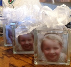 Memorial Lighted Glass Blocks